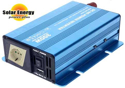 12V Φ/Β ΣΥΣΤΗΜΑ-Α ECONOMY 0.75KWH – 0.90 KWH/220AC-inverter καθαρού ημιτόνου Solar Energy PREMIUM SK 300 WATT/12V(400VA)